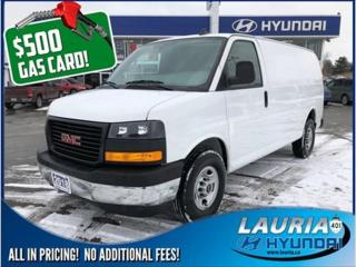 Used 2018 GMC Savana 2500 for sale in Port Hope, ON