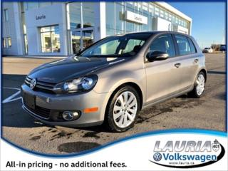Used 2013 Volkswagen Golf for sale in PORT HOPE, ON