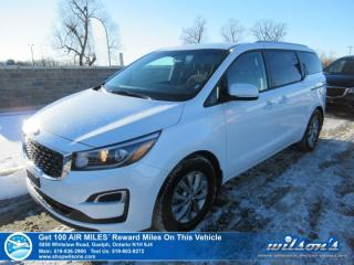Used 2019 Kia Sedona LX | HTD STEERING + SEATS | PWR SEAT | APPLE CARPLAY + ANDROID AUTO | REV CAM | ALLOYS for sale in Guelph, ON