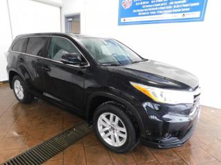 Used 2016 Toyota Highlander LE 8 PASS for sale in Listowel, ON