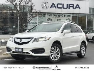 Used 2016 Acura RDX Tech at AWD, Navi, Remote Start, X-Bars, Running Boards for sale in Markham, ON
