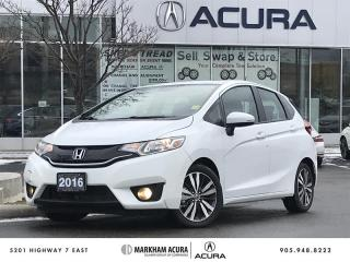 Used 2016 Honda Fit EX-L Navi CVT for sale in Markham, ON