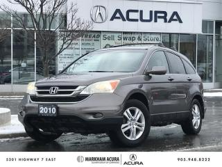 Used 2010 Honda CR-V EX-L 4WD at Pwr Roof, Rails   Crossbars, Heated Seats for sale in Markham, ON