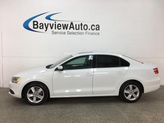 Used 2014 Volkswagen Jetta 2.0 TDI Comfortline - 6SPD! BLUETOOTH! SUNROOF! HTD SEATS! ALLOYS! for sale in Belleville, ON