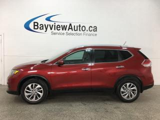 Used 2015 Nissan Rogue SL - AWD! HTD LTHR! PANOROOF! BSA! REVERSE CAM! ALLOYS! for sale in Belleville, ON
