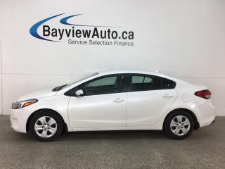 Used 2018 Kia Forte LX - BLUETOOTH! A/C! PWR GROUP! for sale in Belleville, ON