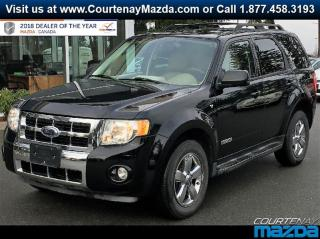 Used 2008 Ford Escape Limited 4D Utility 4WD for sale in Courtenay, BC