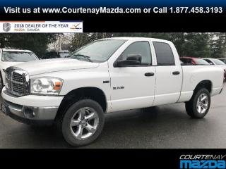 Used 2008 Dodge Ram 1500 SLT QUAD CAB 4WD for sale in Courtenay, BC