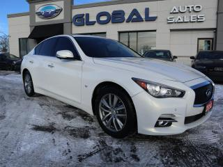 Used 2014 Infiniti Q50 Premium AWD NAVIGATION LOW KM. for sale in Ottawa, ON