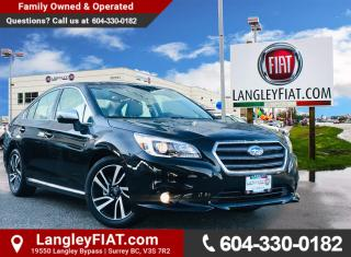 Used 2017 Subaru Legacy Sport Technology AWD, BLIND SPOT MONITORING! NO ACCIDENTS, B.C. OWNED! for sale in Surrey, BC