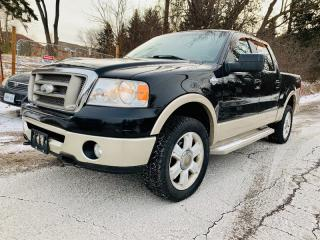 Used 2007 Ford F-150 Supercrew King Ranch for sale in Richmond Hill, ON