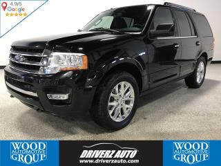 Used 2017 Ford Expedition Limited 7 PASSENGER, POWER FOLDING 3RD ROW, POWER RUNNING BOARDS for sale in Calgary, AB