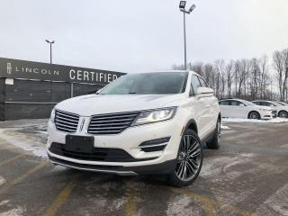 Used 2015 Lincoln MKC AWD|NAVIGATION|SUNROOF|ADAPTIVE CRUISE CONTROL| for sale in Barrie, ON