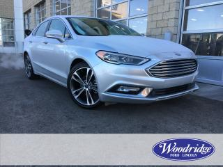 Used 2018 Ford Fusion Titanium ***PRICE REDUCED*** 2.0L, LS, HS, SUNROOF, BACK UP CAMERA, REMOTE START, NO ACCIDENTS for sale in Calgary, AB