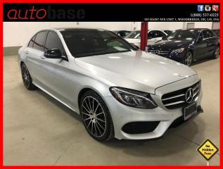 Used 2016 Mercedes-Benz C-Class C300 PREMIUM PLUS NIGHT SPORT BURMESTER LED for sale in Vaughan, ON