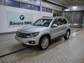 Used 2014 Volkswagen Tiguan Highline 6sp at Tip 4M for sale in Edmonton, AB