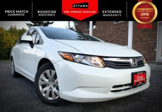 Used 2012 Honda Civic Sdn 4dr Auto LX for sale in Carp, ON
