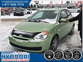 Used 2010 Hyundai Accent GL A/C for sale in St-Hyacinthe, QC