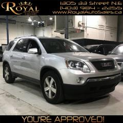 Used 2010 GMC Acadia SLT1 for sale in Calgary, AB