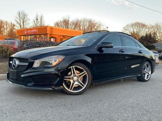 Used 2014 Mercedes-Benz CLA-Class CLA250 4MATIC-AMG PKG-LED LIGHTS-PANO-BACKUP CAM for sale in Mississauga, ON