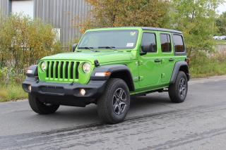 New 2018 Jeep Wrangler Unlimited Sport S for sale in Bracebridge, ON