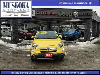 Used 2017 Fiat 500 X Trekking for sale in Bracebridge, ON