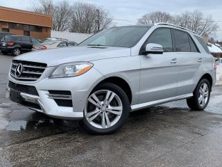 Used 2014 Mercedes-Benz ML-Class ML 350 BlueTEC for sale in Mississauga, ON