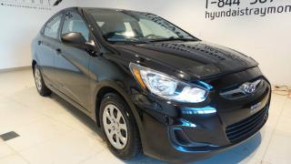 Used 2014 Hyundai Accent Berline, automatique, GL BAS KILOMETRAGE for sale in St-Raymond, QC