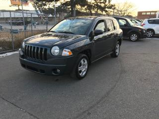Used 2007 Jeep Compass 170KM,GAS SAVER,SAFETY+3YEARS WARRANTY INCLUDED for sale in Toronto, ON