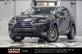 Used 2015 Lexus NX 200t Premium Awd; Cuir for sale in Lachine, QC