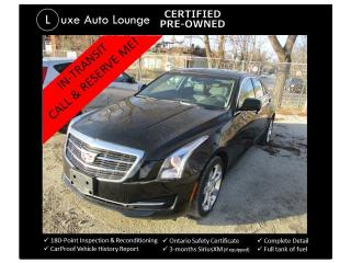Used 2015 Cadillac ATS Standard AWD for sale in Orleans, ON