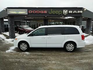 Used 2017 Dodge Grand Caravan CVP/SXT for sale in Bracebridge, ON