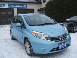 Used 2015 Nissan Versa Note, SV for sale in Beaverton, ON