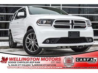 Used 2018 Dodge Durango GT / 293 HP / AWD / 7 Rider / Leather ... for sale in Guelph, ON