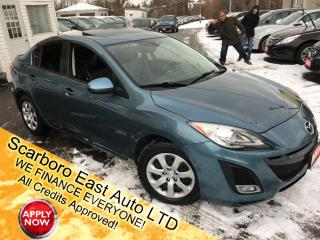 Used 2011 Mazda MAZDA3 GT/ AUTO/ LEATHER/ SUNROOF/ POWER SEATS/ LOADED! for sale in Scarborough, ON