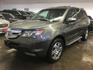 Used 2008 Acura MDX LEATHER-SUNROOF| CARPROOF CLEAN |CERTIED for sale in North York, ON