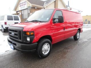 Used 2009 Ford E250 CARGO 4.6L V8 Loaded Ladder Rack Divider Shelving for sale in Etobicoke, ON