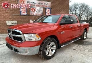 Used 2015 RAM 1500 SLT/ECODIESEL/4X4/CREW CAB/NO ACCIDENT/WARRANTY IN for sale in Cambridge, ON