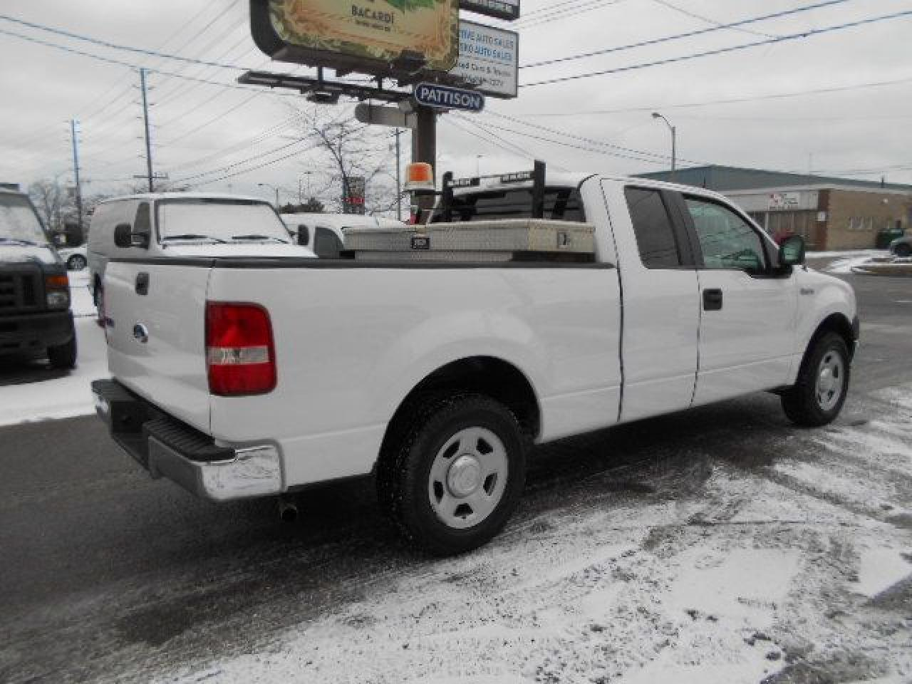 2007 Ford F-150 XL 4.6L V8 Extended Cab Back Rack Tool Box 226km