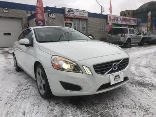 Used 2013 Volvo S60 T5 _SUNROOF_LEATHER_BLUETOOTH_BLIND SPOTS SENSOR for sale in Oakville, ON