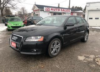Used 2009 Audi A3 Premium/PanoRoof/Certified//Accident Free/6 Speed for sale in Scarborough, ON