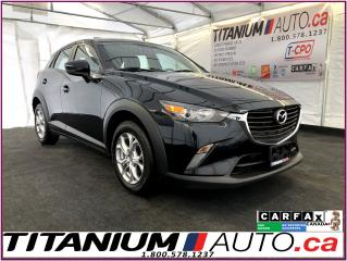 Used 2016 Mazda CX-3 GS-Camera-GPS-Sunroof-Heated Leather-Traction Cont for sale in London, ON