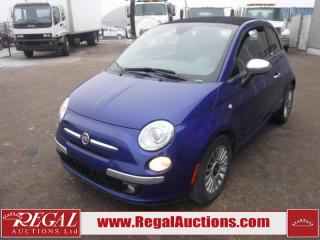 Used 2012 Fiat 500 Lounge 2D Cabriolet 1.4L for sale in Calgary, AB