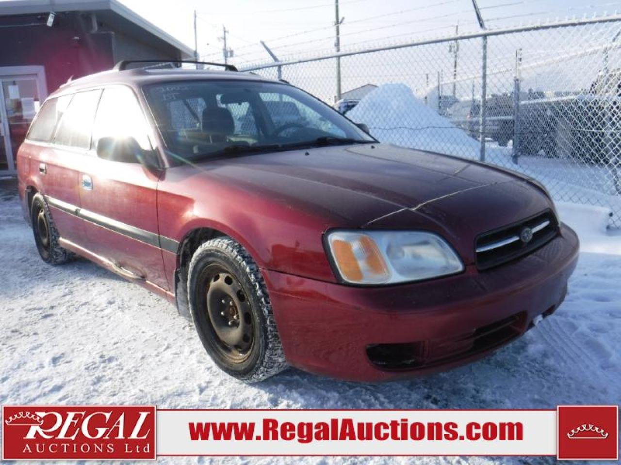 Photo of Red 2002 Subaru Legacy