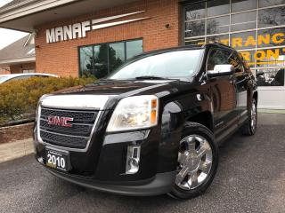 Used 2010 GMC Terrain AWD SLT-2 Sunroof Heated Seats Rear Cam Certi* for sale in Concord, ON