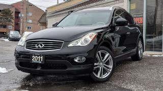 Used 2011 Infiniti EX35 NO ACCIDENT|SUNROOF|BIRD+BACK VIEW CAM|BLUETOOTH for sale in Mississauga, ON