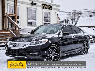 Used 2016 Honda Accord Sedan Sport ROOF BLIS 19ALLOYS BK.CAM WOW!! for sale in Ottawa, ON