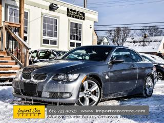 Used 2007 BMW 3 Series 335i 6 SPD HARDTOP CAB WOW!! for sale in Ottawa, ON