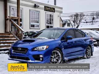 Used 2017 Subaru WRX STI Sport-tech 6SPD SI DRIVE NAV BLIS WOW!! for sale in Ottawa, ON