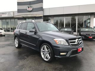 Used 2012 Mercedes-Benz GLK-Class 350 AMG SPORT PKG NAVI PANO ROOF REAR CAMERA for sale in Langley, BC